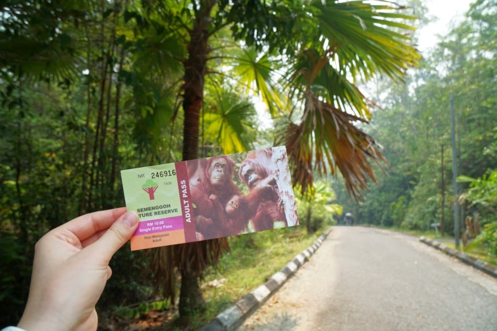 Semenggoh Wildlife Centre Ticket
