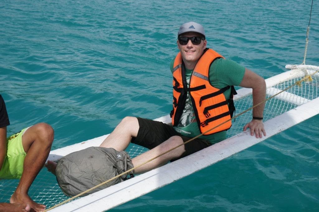 Paraw Auslegerboot Boracay
