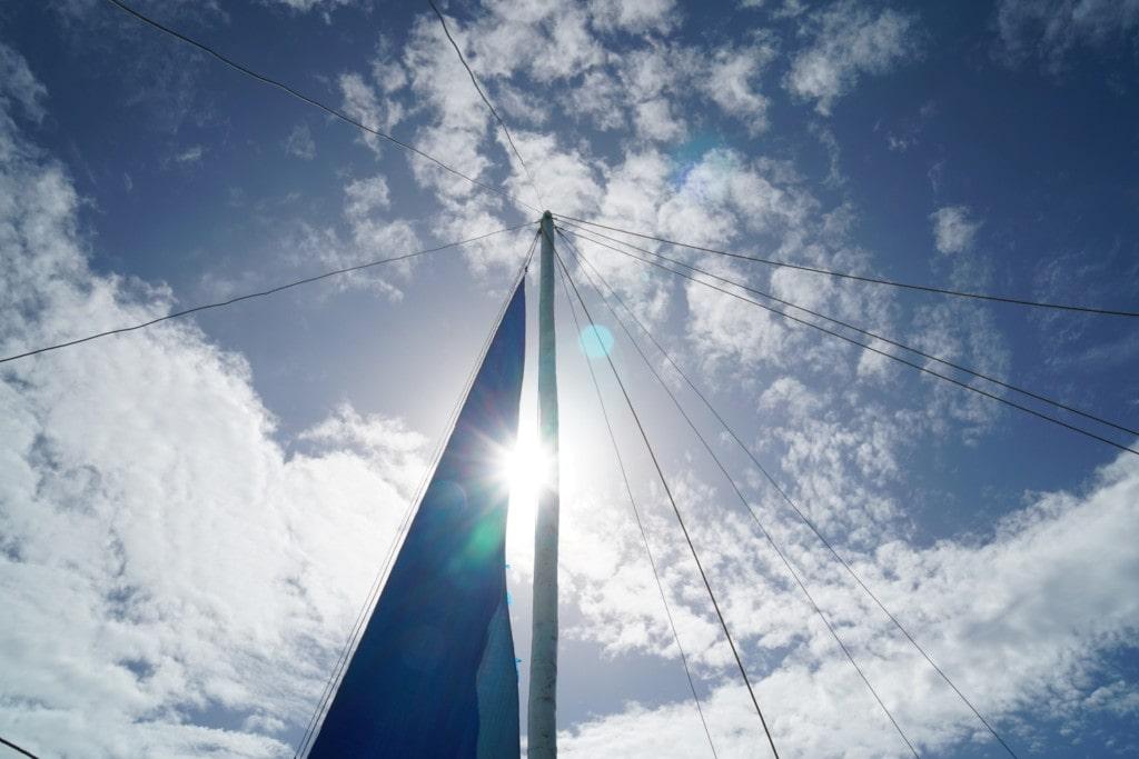 Boracay blauer Himmel