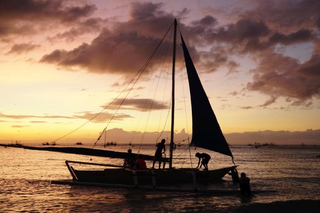 Boracay Sonnenuntergang