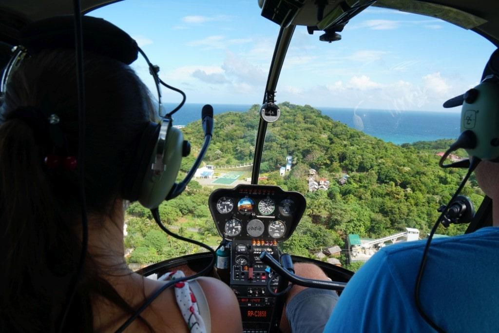 Helikopterflug Boracay