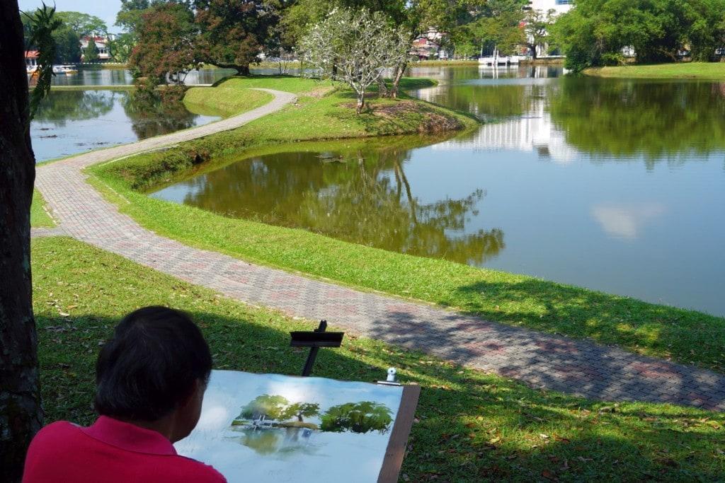 Künstler Taiping Lake Gardens