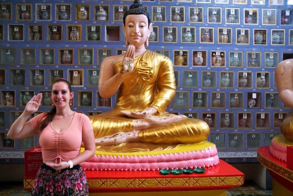 Lying Buddha Temple Buddha