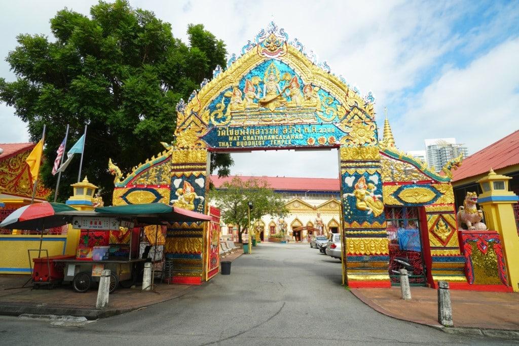 Lying Buddha Temple Eingang