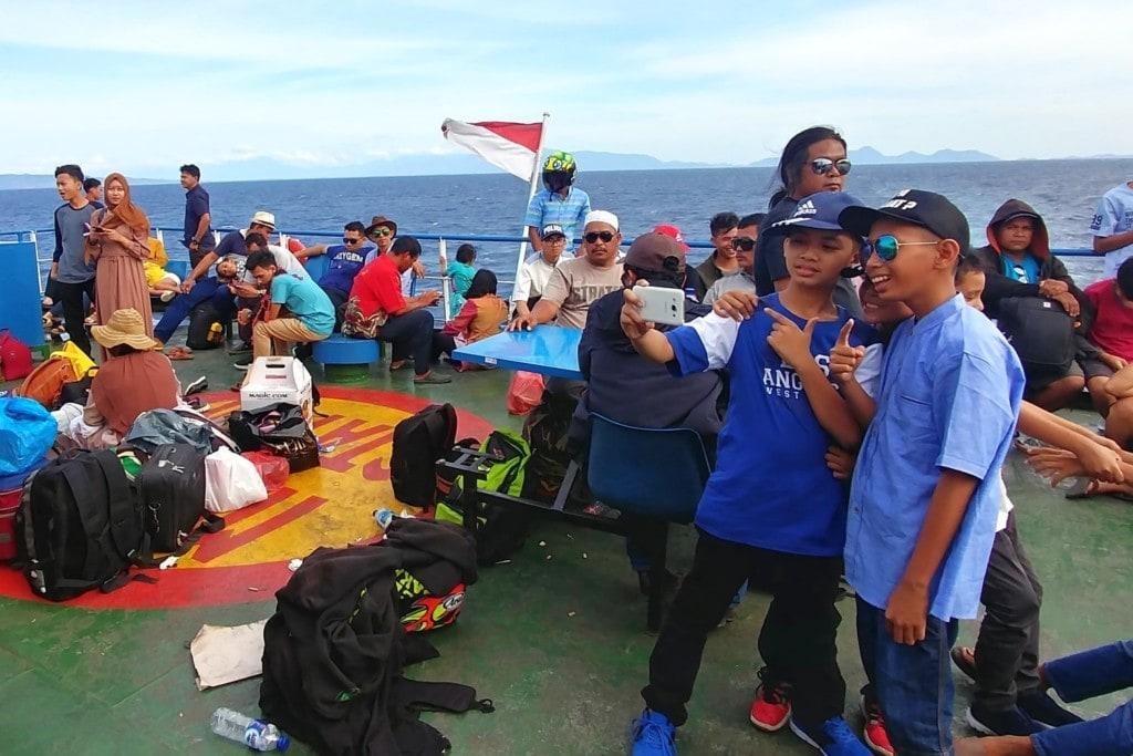 Pulau Weh Fähre Deck