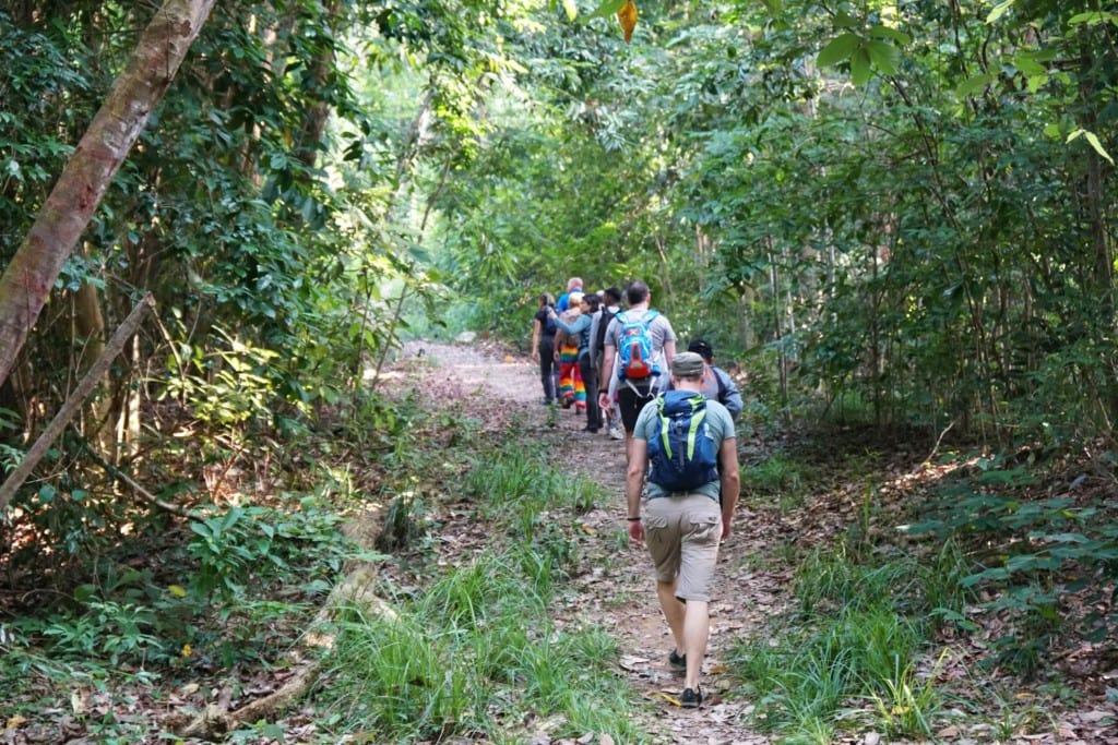 wandern auf Pulau Jerejak