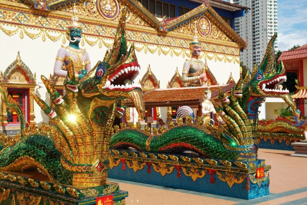 Wat Chaiyamangalaram Temple Drachen