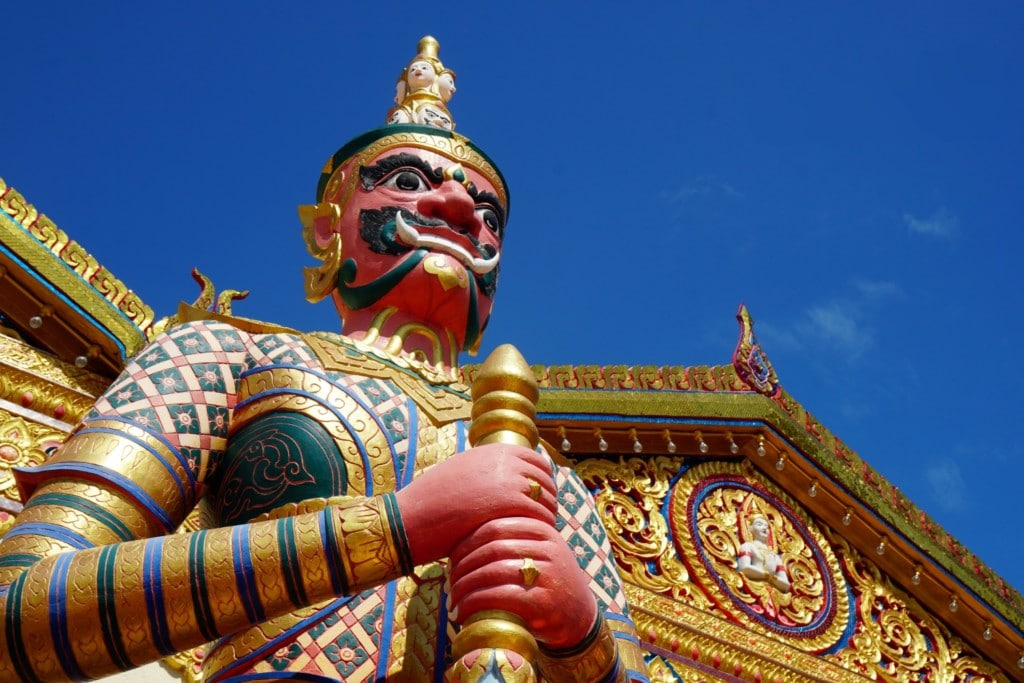 Yaksha Lying Buddha Temple