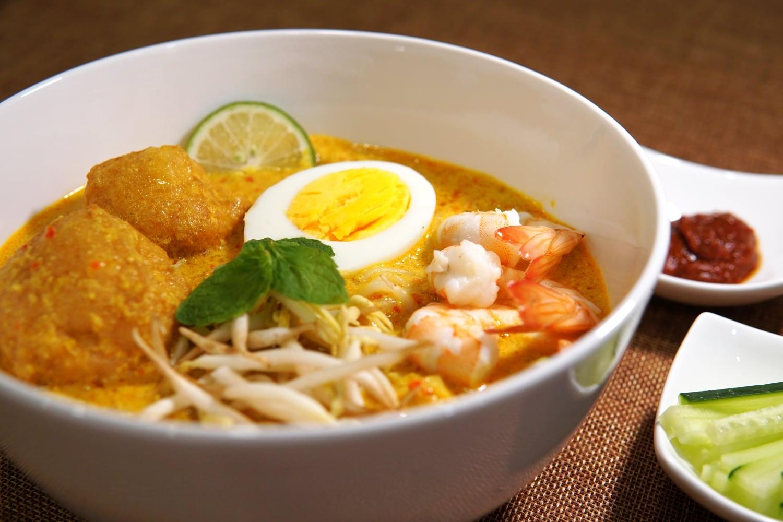 Curry Mee Laksa Aus Der Nyonya Kuche Rezept Fernschmecker