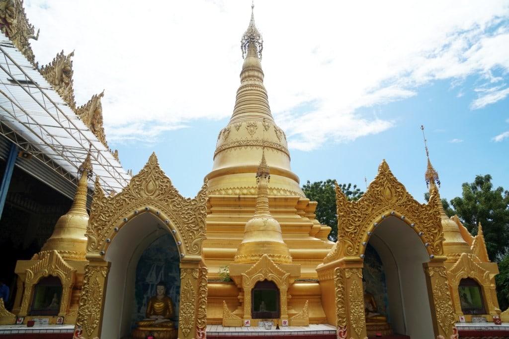 Dhammikarama Burmese Temple Stupa