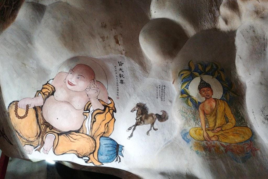 Perak Tong Cave Wandmalereien