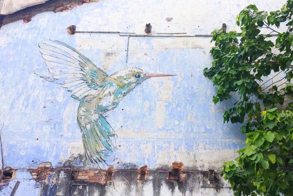 Street Art Ipoh Kolibri