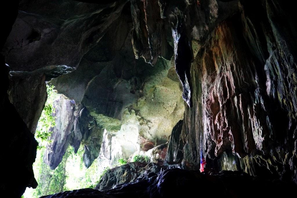 Tempurung Höhle Anfang