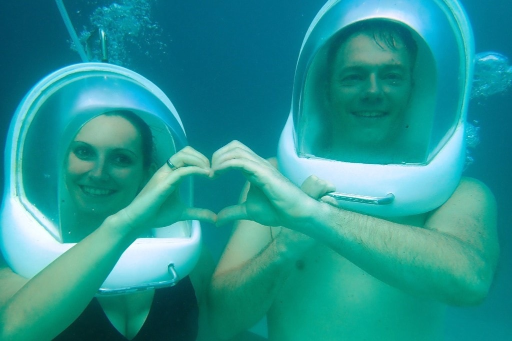 Fernschmecker unter Wasser