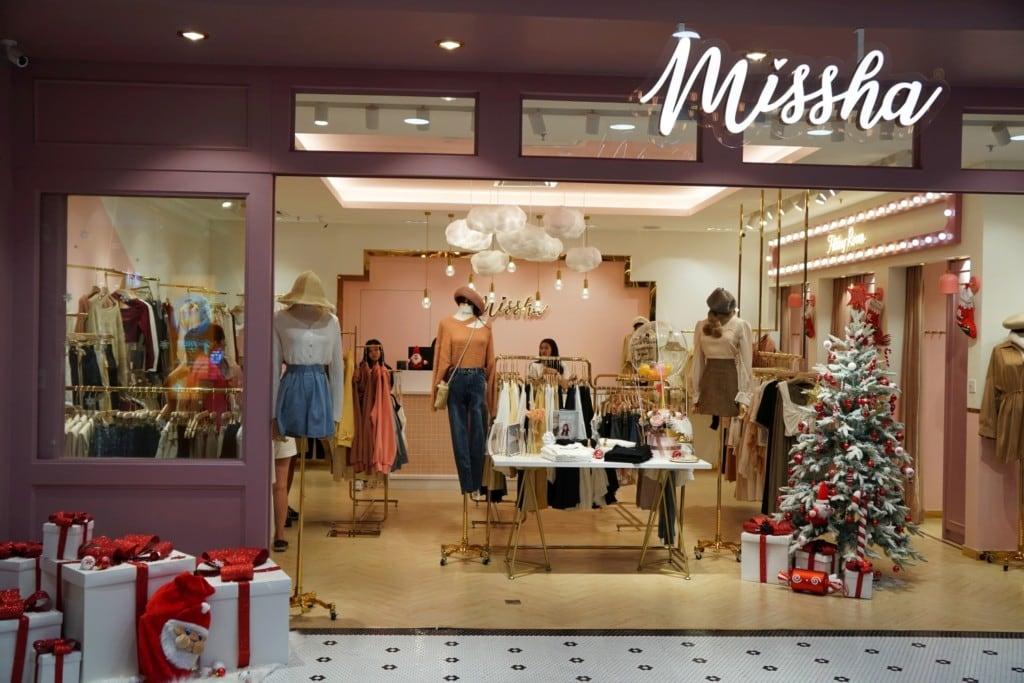 Geschäfte zu Weihnachten in Malaysia