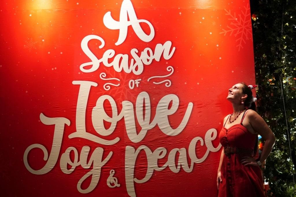 Liebe, Freude und Frieden