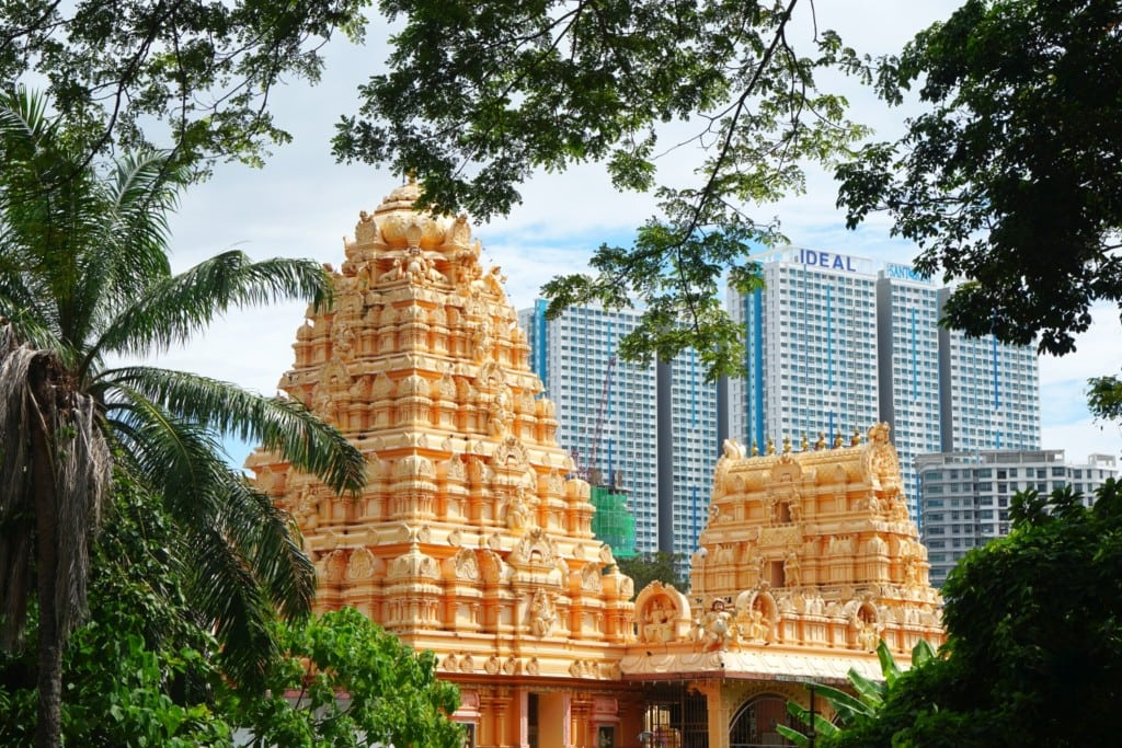 Tempel und Großstadt