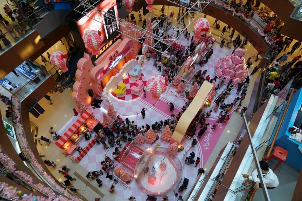 Weihnachten in Malaysia Hello Kitty