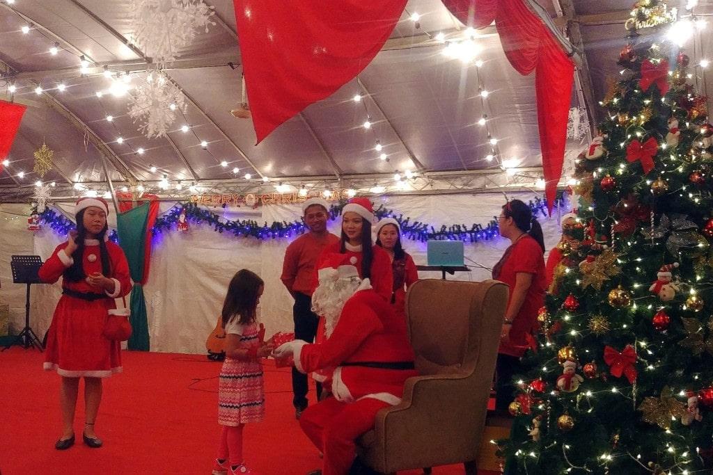 Weihnachten in Quayside