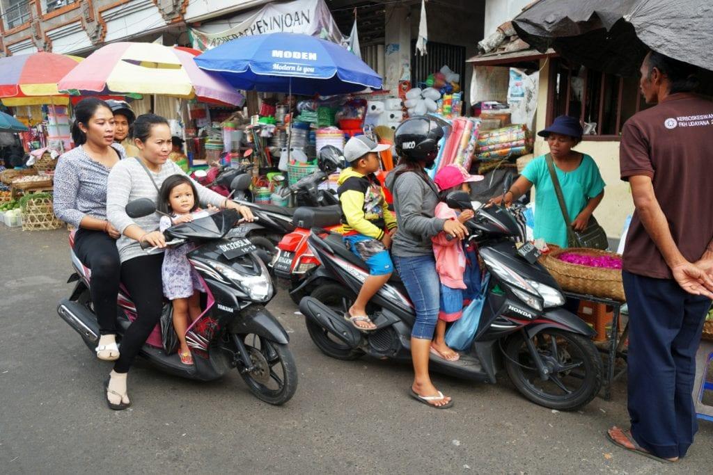 Rollerfahren Ubud
