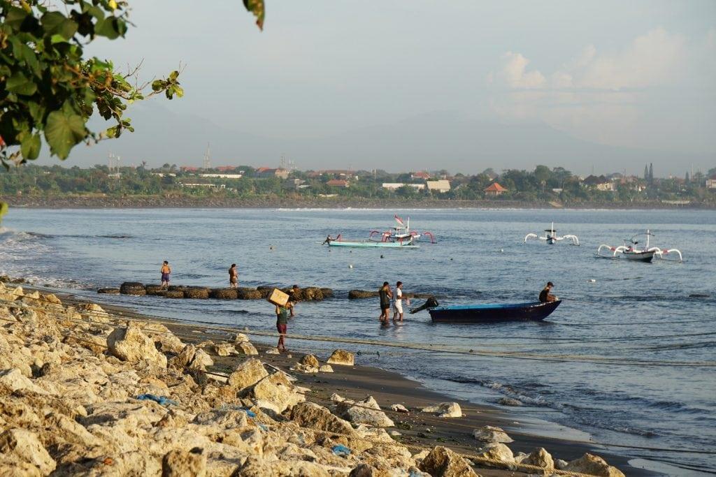 Sanur Hafen