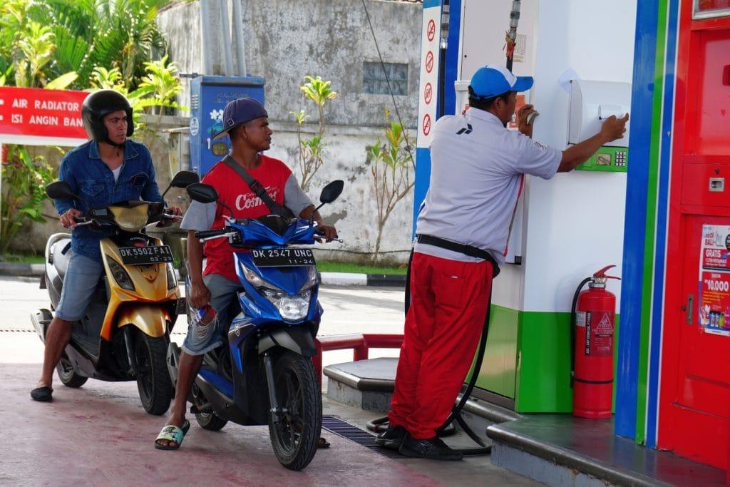 Tankstelle Bali