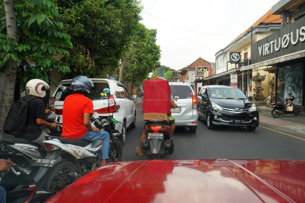 Verkehr auf Bali