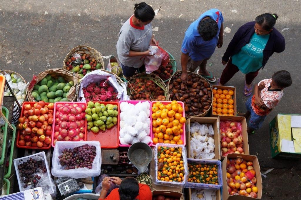 Wet Market Bali Obst
