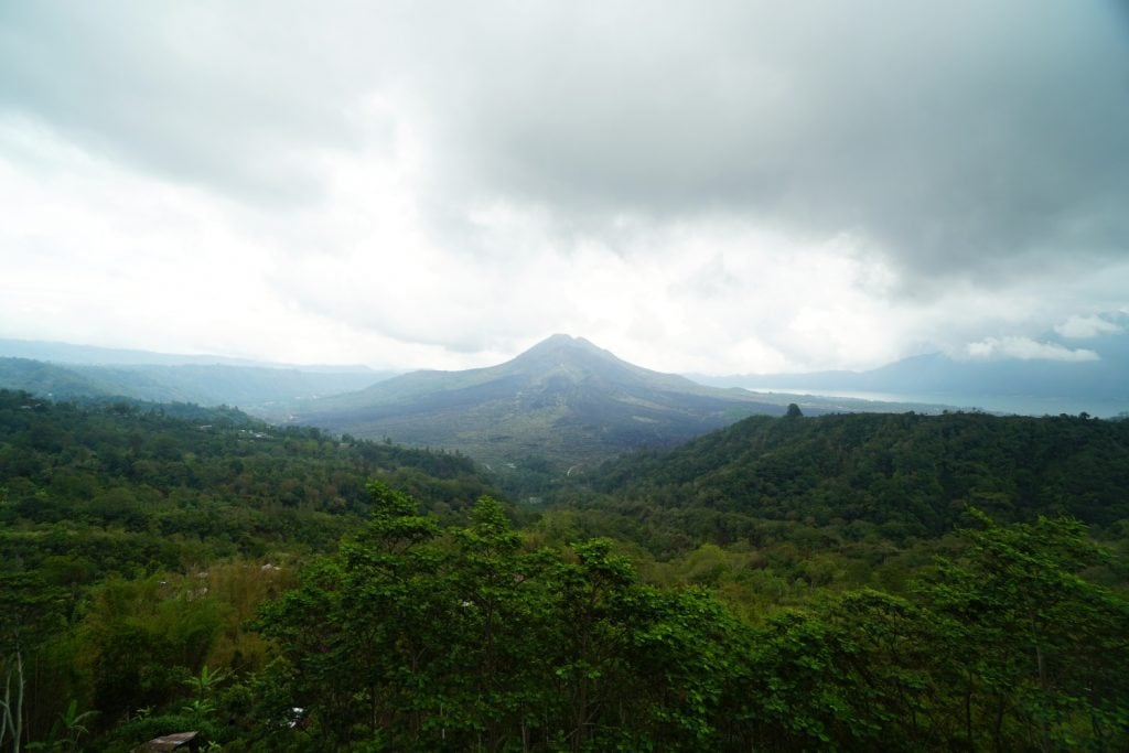 Aussicht Vulkan Batur