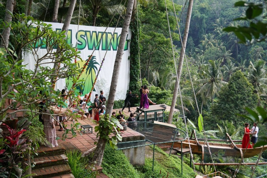 Bali Swing Sehenswürdigkeit