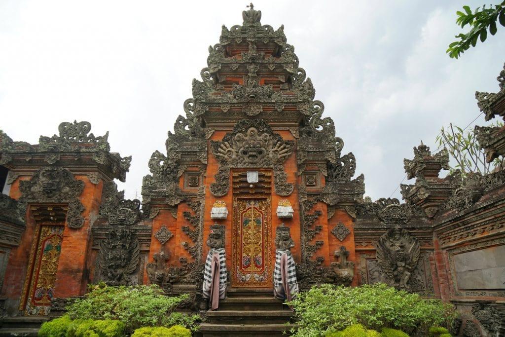 balinesisches Tor in Ubud