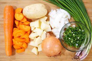 Curry Udon Zutaten