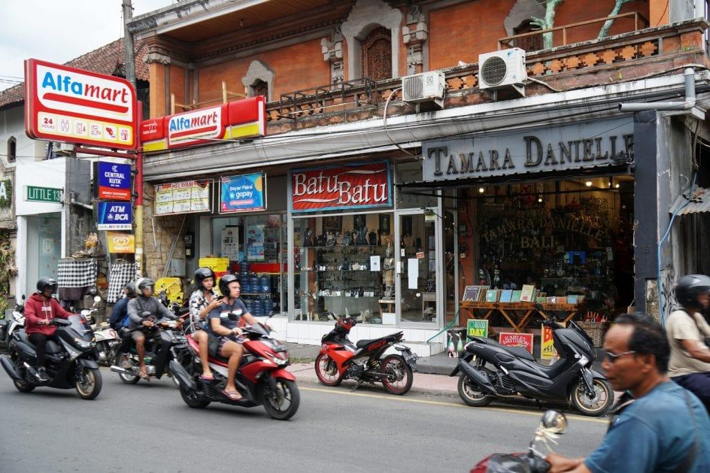 Einkaufen in Ubud