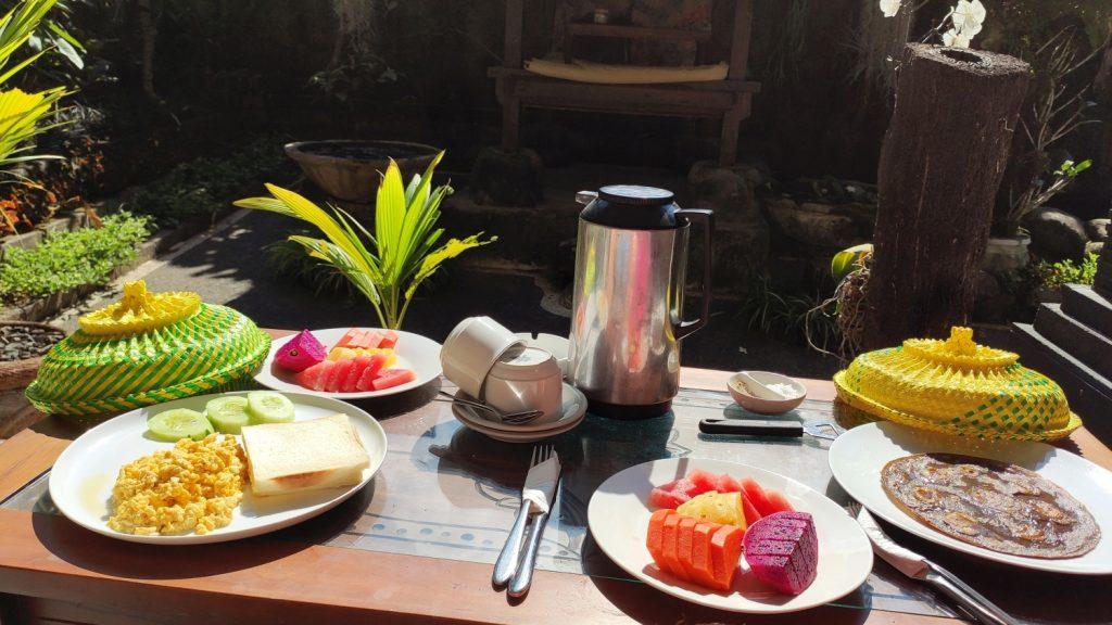 Frühstück Muka House