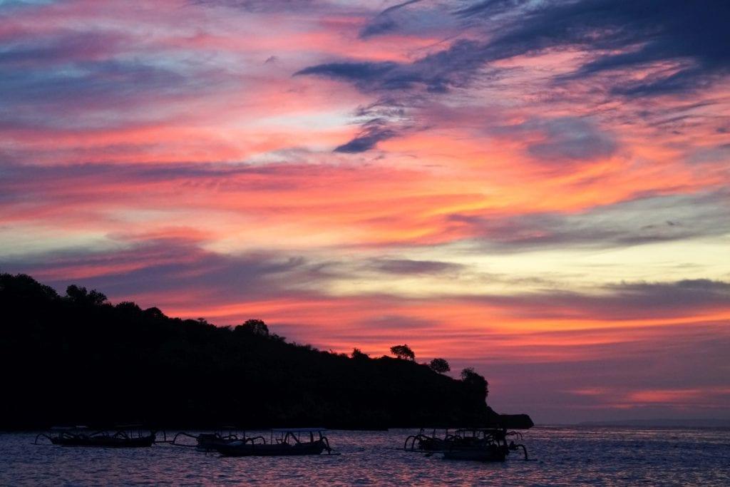 Crystal Bay Sonnenuntergang