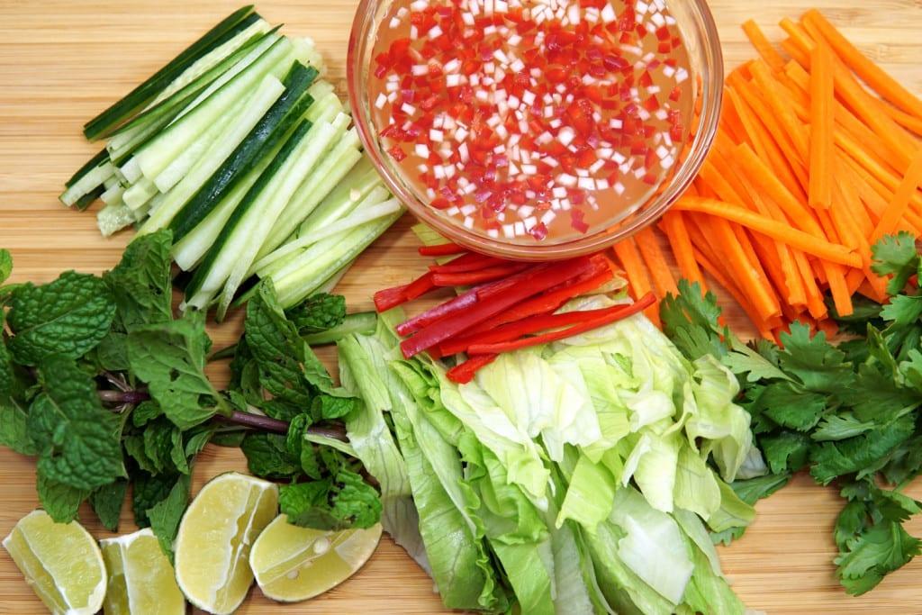 vietnamesische Nuoc Cham Sauce