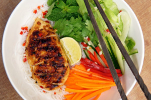 Zitronengras Hähnchen vietnamesisches Rezept