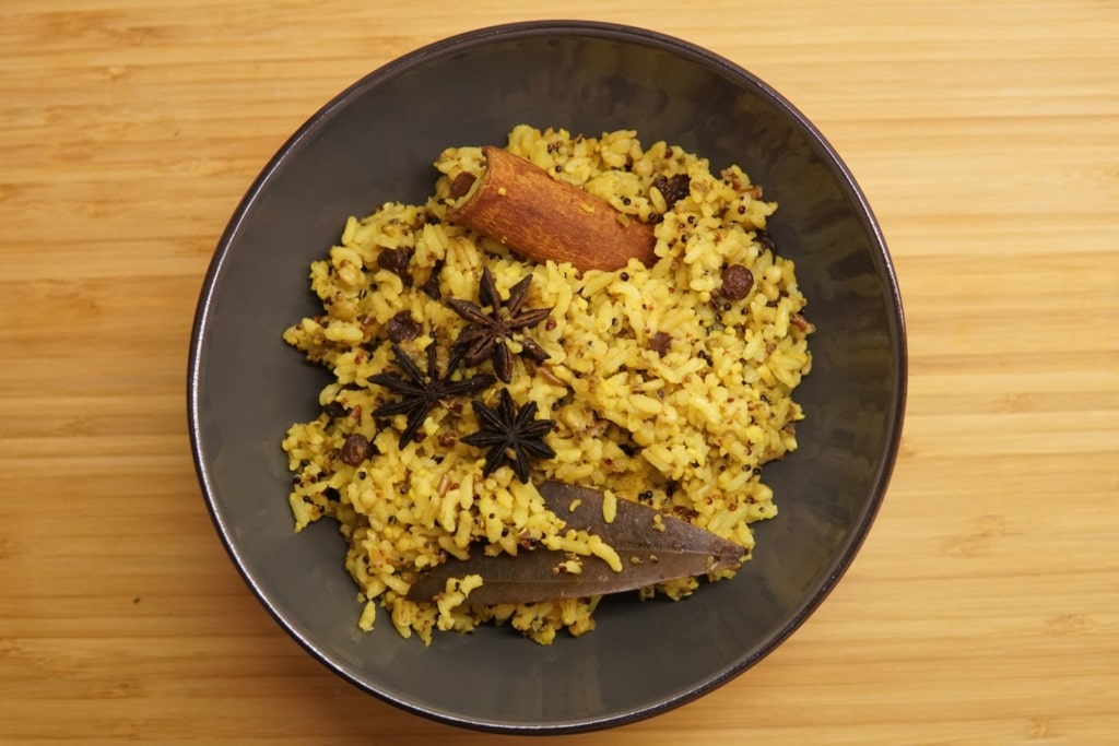 indischer Gewürzreis Rezept