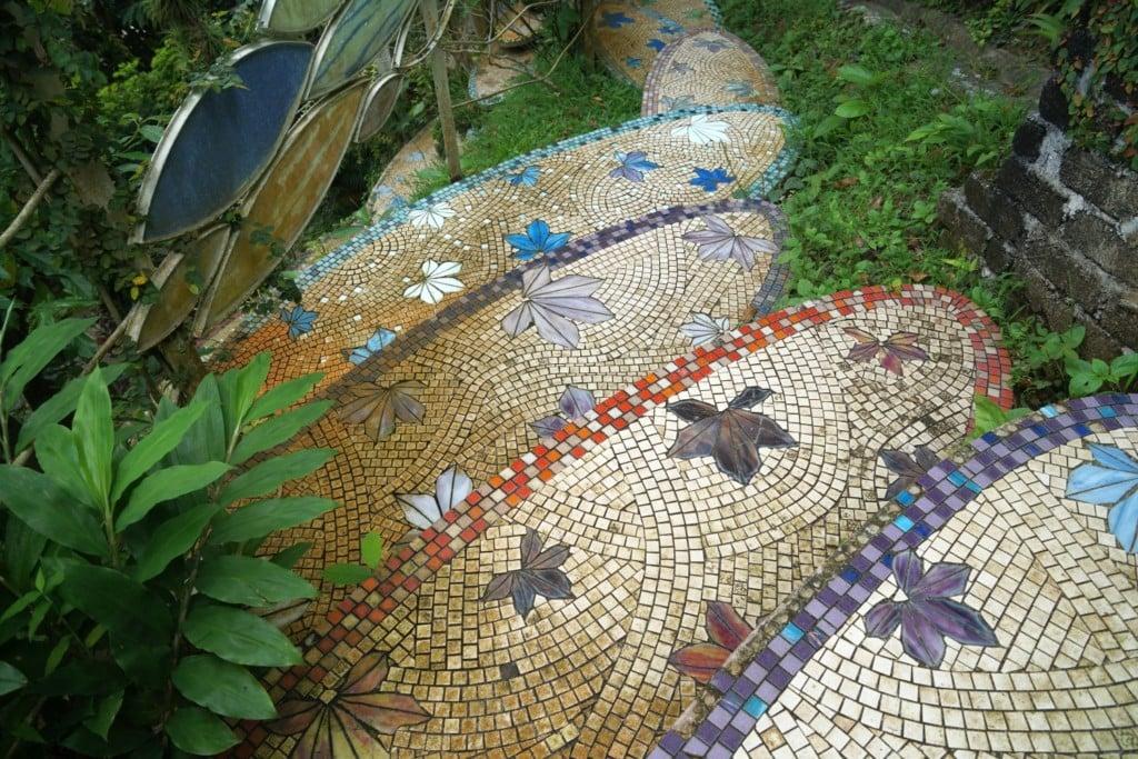Mosaiktreppe Penang Art and Garden