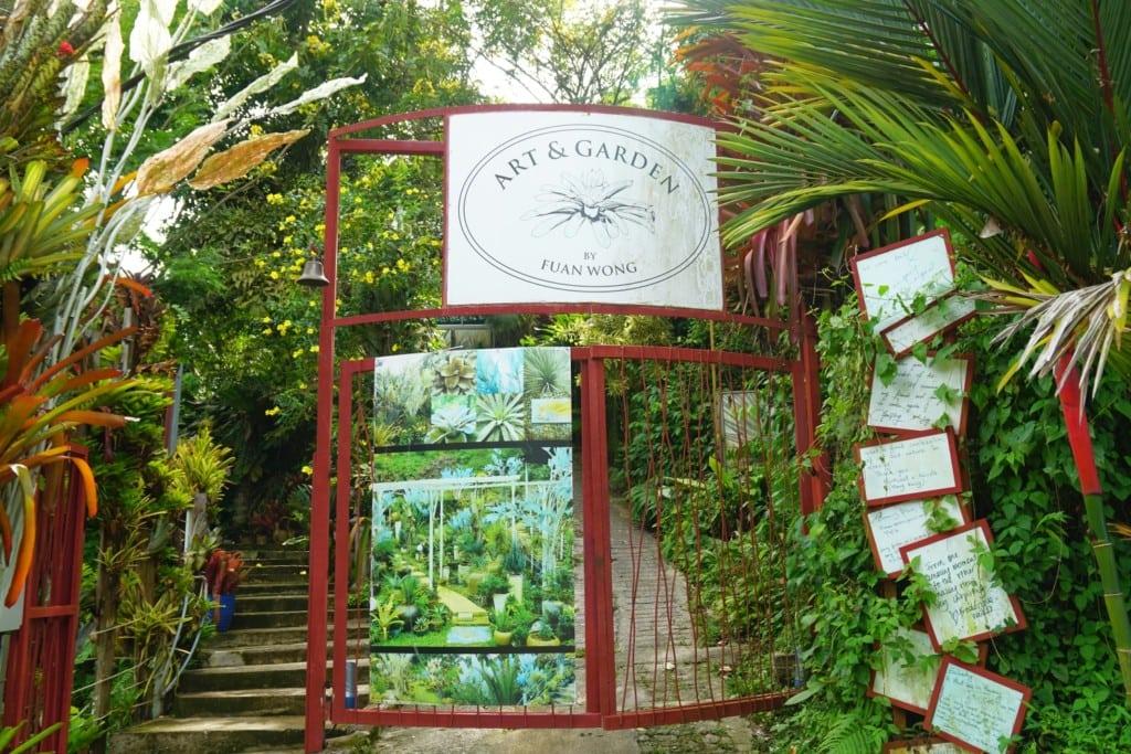 Penang Art and Garden Eingang