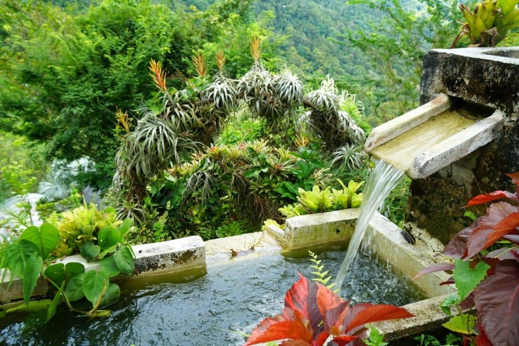 Penang Art and Garden Wasserfall