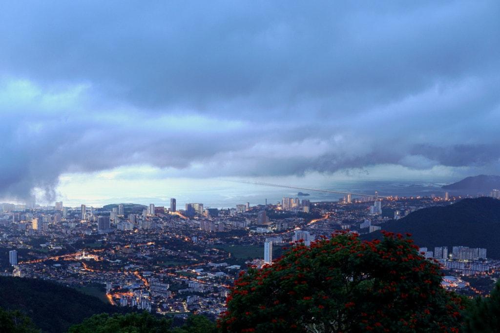Aussicht Penang Hill