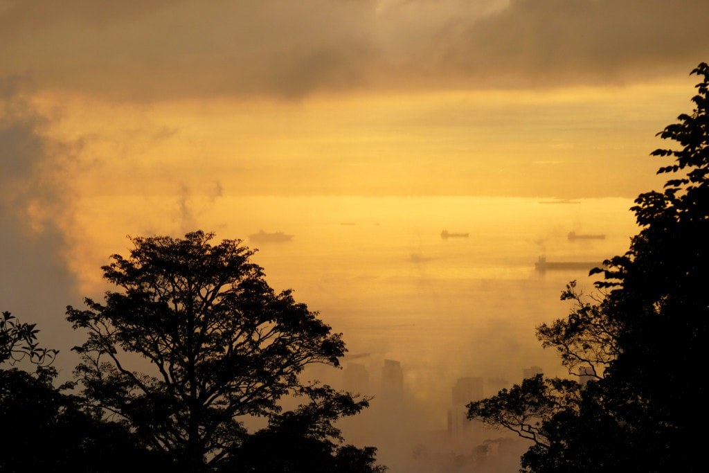 Sonnenaufgang Penang Hill