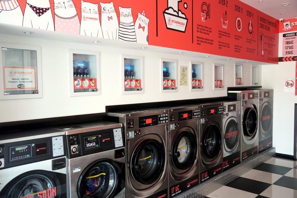 Waschsalon Anleitung
