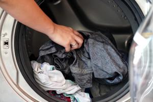 Waschtrommel befüllen