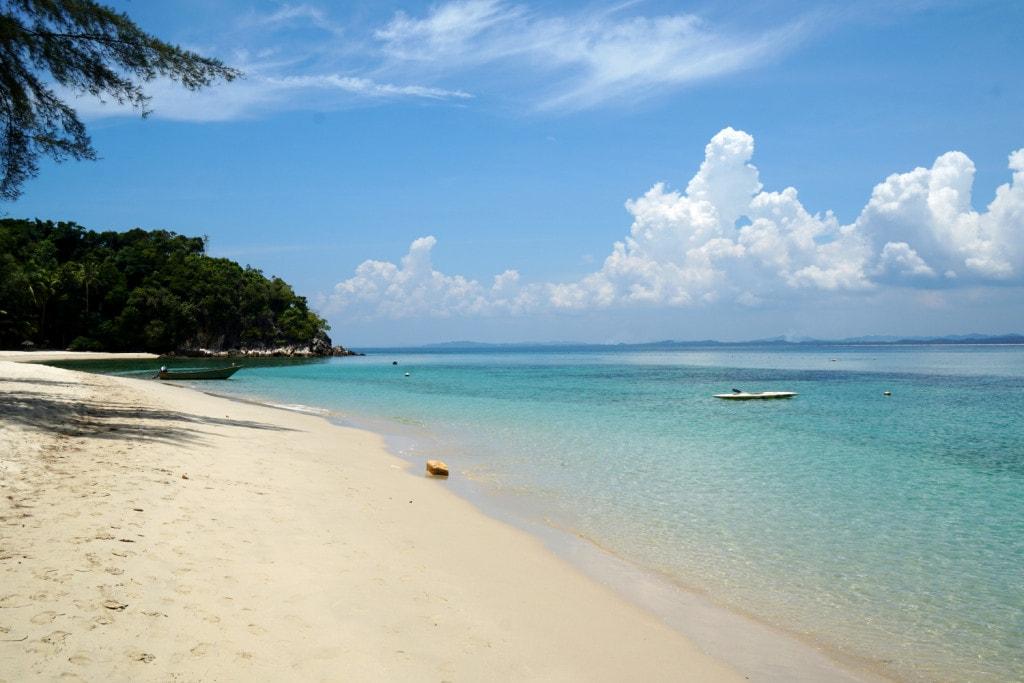 Malaysia Sandstrand Pulau Kapas