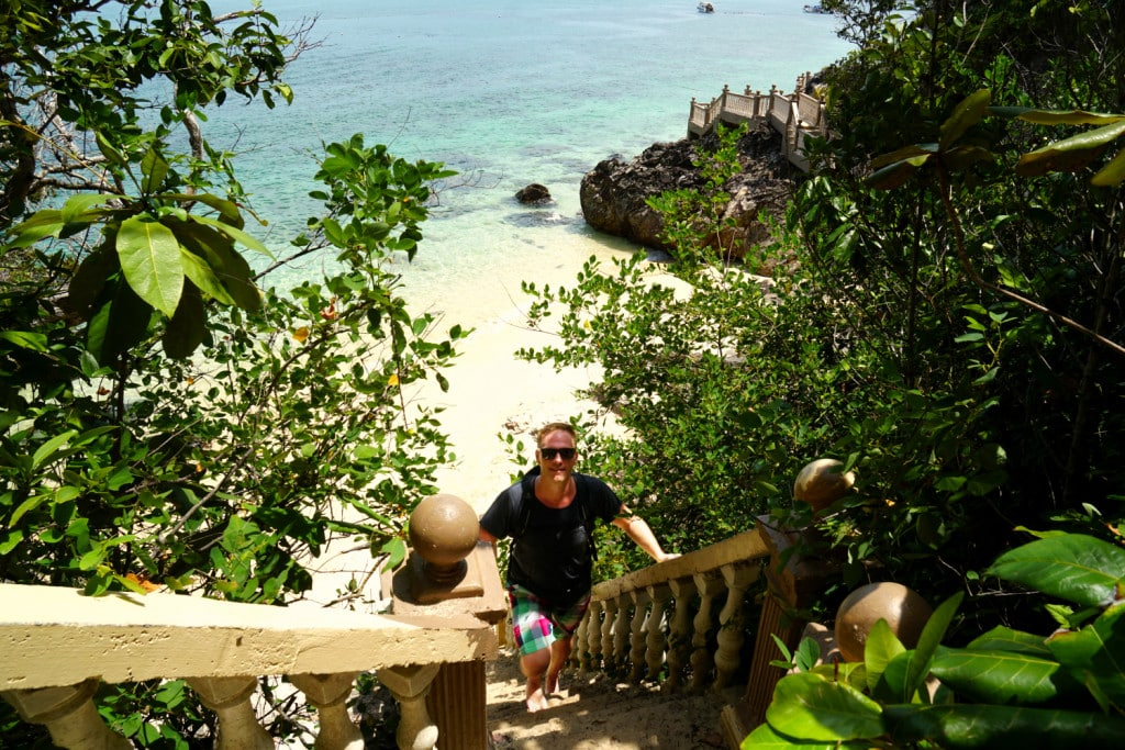 Pulau Kapas Strandspaziergang