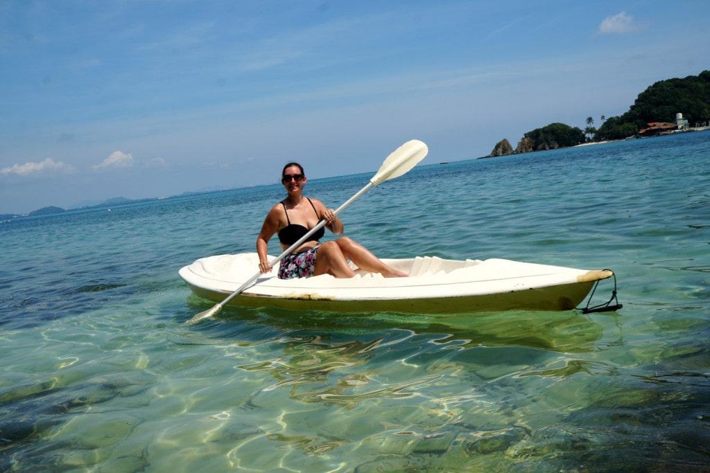 Kajakfahren auf Pulau Kapas