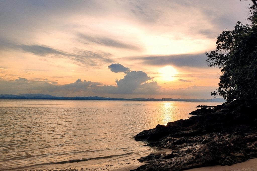 Pulau Kapas Sonnenuntergang