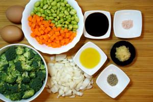 Zutaen Gemüsereis